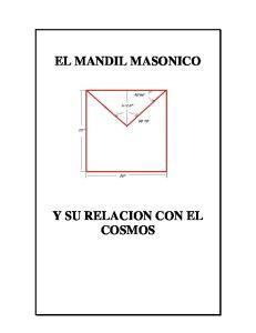 EL MANDIL MASONICO Y SU RELACION CON EL COSMOS