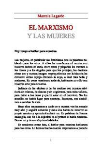 EL MARXISMO Y LAS MUJERES