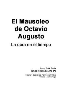 El Mausoleo de Octavio Augusto