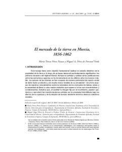 El mercado de la tierra en Murcia,
