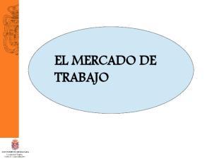 EL MERCADO DE TRABAJO