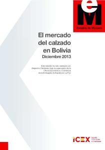 El mercado del calzado en Bolivia Diciembre 2013