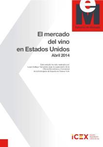 El mercado del vino en Estados Unidos Abril 2014
