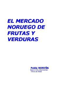 EL MERCADO NORUEGO DE FRUTAS Y VERDURAS