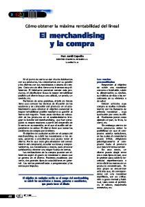 El merchandising y la compra