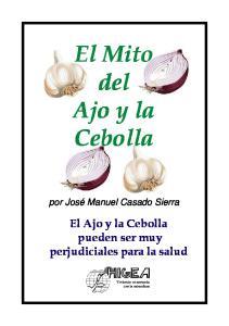 El Mito del Ajo y la Cebolla