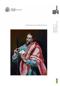 El Montante de San Pablo (El Greco)