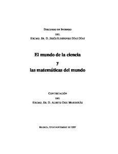 El mundo de la ciencia y las matemáticas del mundo