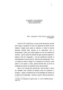 EL MUSEO Y LOS ARTISTAS. BRECHAS Y DESENCUENTROS EN LOS SIGLOS XIX Y XX