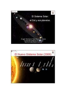 El Nuevo Sistema Solar (2006)