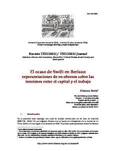 El ocaso de Swift en Berisso: representaciones de ex-obreros sobre las tensiones entre el capital y el trabajo
