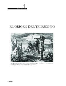 EL ORIGEN DEL TELESCOPIO