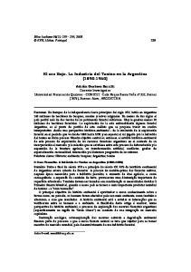 El oro Rojo. La Industria del Tanino en la Argentina ( )