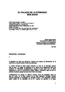 EL PALACIO DE LA ETERNIDAD BOB SHAW