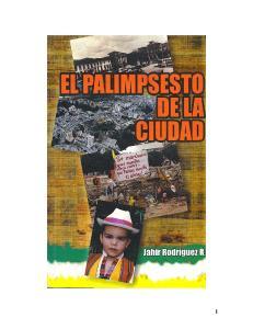 EL PALIMPSESTO DE LA CIUDAD: CIUDAD EDUCADORA