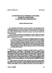 EL PENDÓN DE SAN ISIDORO O DE BAEZA: SUSTENTO LEGENDARIO Y CONSTITUCIÓN EMBLEMÁTICA