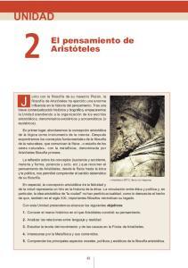 El pensamiento de Aristóteles
