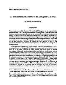 El Pensamiento Económico de Douglass C. North