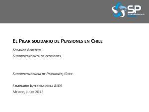 EL PILAR SOLIDARIO DE PENSIONES EN CHILE