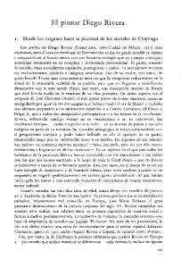 El pintor Diego Rivera