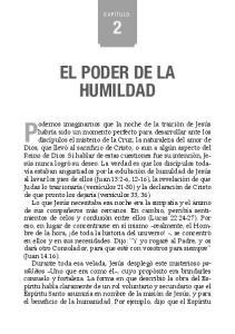 EL PODER DE LA HUMILDAD