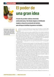 El poder de una gran idea