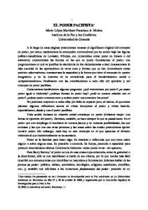 EL PODER PACIFISTA 1