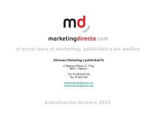 el portal para el marketing, publicidad y los medios