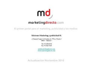 El primer portal para el marketing, publicidad y los medios