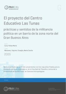 El proyecto del Centro Educativo Las Tunas