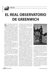 EL REAL OBSERVATORIO DE GREENWICH