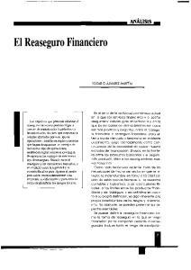 El Reaseguro Financiero