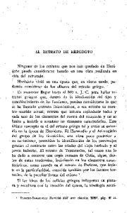 EL RETRATO DE HERODOTO