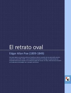 El retrato oval. Edgar Allan Poe ( )