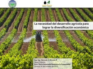 El rol de la agricultura en el desarrollo