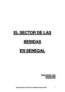 EL SECTOR DE LAS BEBIDAS EN SENEGAL