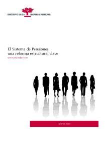 El Sistema de Pensiones: una reforma estructural clave