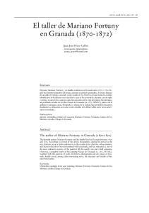 El taller de Mariano Fortuny en Granada ( )
