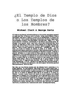 El Templo de Dios o Los Templos de los Hombres?