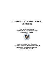 EL TEOREMA DE LOS CUATRO