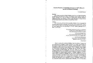 El texto literario y la medicina forense en Anil's Ghost, la. novela de Michael Ondaatje