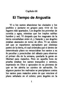 El Tiempo de Angustia