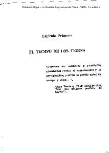 EL TIEMPO DE LOS TIIGRES