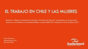 EL TRABAJO EN CHILE Y LAS MUJERES