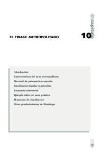 EL TRIAGE METROPOLITANO
