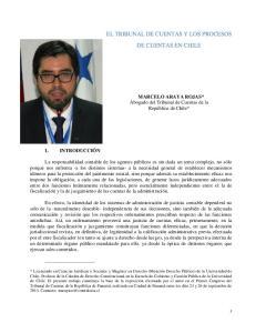 EL TRIBUNAL DE CUENTAS Y LOS PROCESOS DE CUENTAS EN CHILE