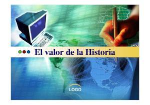 El valor de la Historia LOGO
