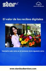 El valor de los recibos digitales