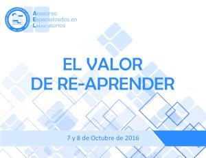 EL VALOR DE RE-APRENDER