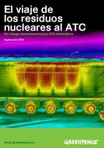 El viaje de los residuos nucleares al ATC